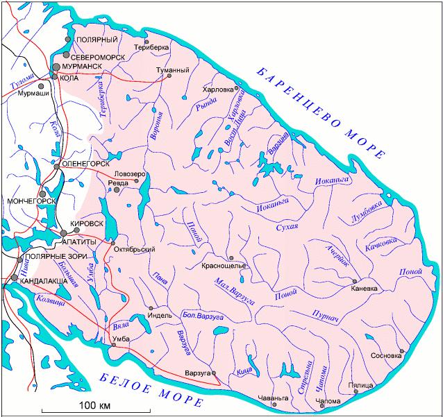 tll: Кольский полуостров